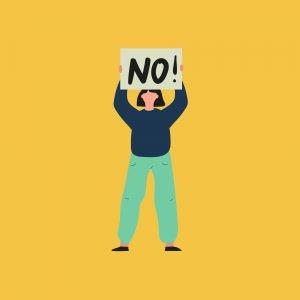 """بیشتر از قبل روی مهارت""""نه"""" گفتن تمرین کن"""
